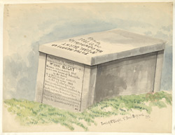 Tomb of Isaac Blight, St Paul's, Deptford